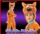 Child Scooby Doo Costume Age 3-4 Years